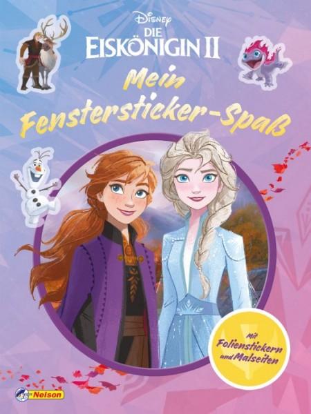 Disney Die Eiskönigin 2: Malbuch mit Fensterstickern