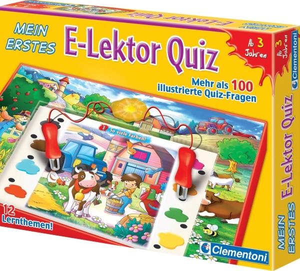 Clementoni Mein erstes E-Lektor Quiz