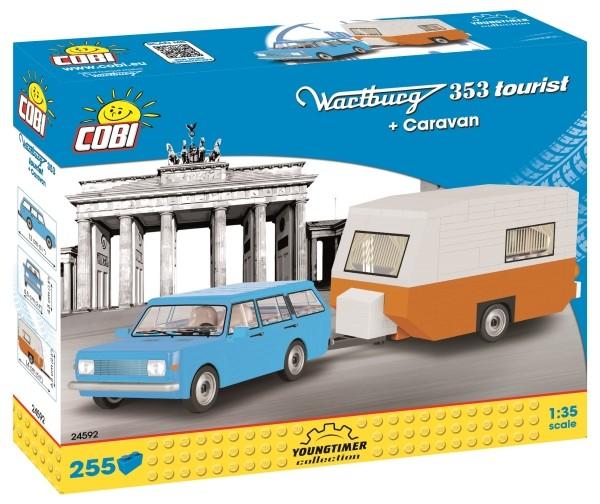 COBI Wartburg 353 Tourist + Caravan