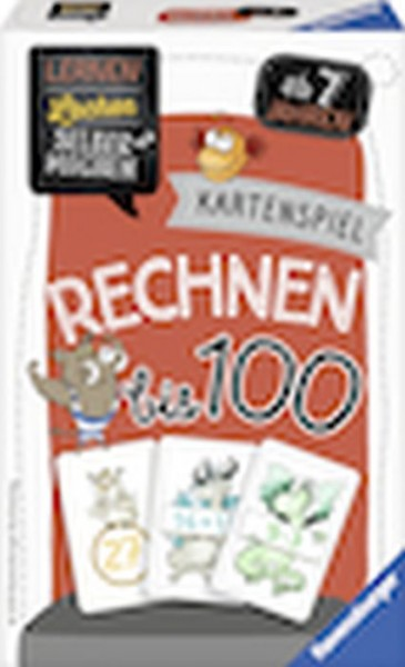 Ravensburger 41599 Kartenspiel Rechnen bis 100