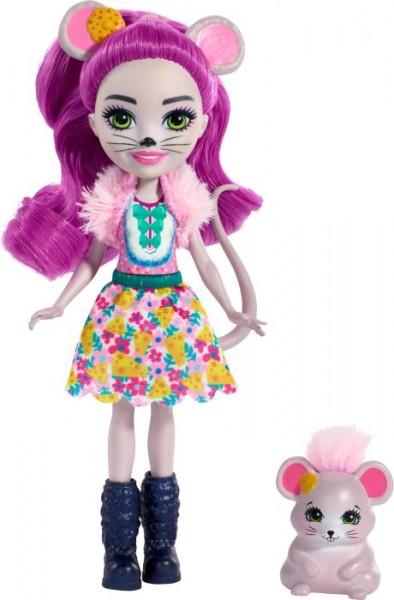 Mattel FXM76 Enchantimals Mayla Mouse & Fondue