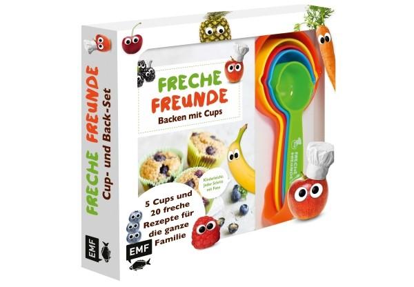 Freche Freunde: Das freche Cup- und Back-Set # Mit 5 Cups und 20 frechen Rezepten für die ganze Fami