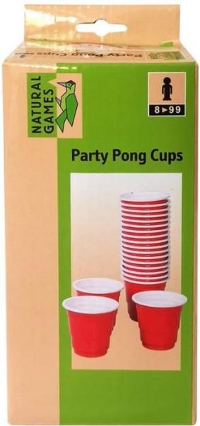 Natural Games Ersatzbecher Party Pong