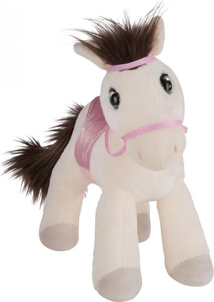 NICI Pferd Mustang Ayeta, 35cm stehend mit Zaumzeug und Sattel