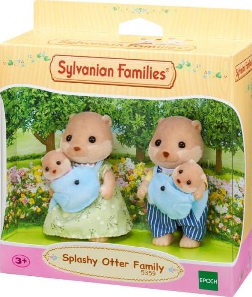 Sylvanian Families Otter: Familie Plansch