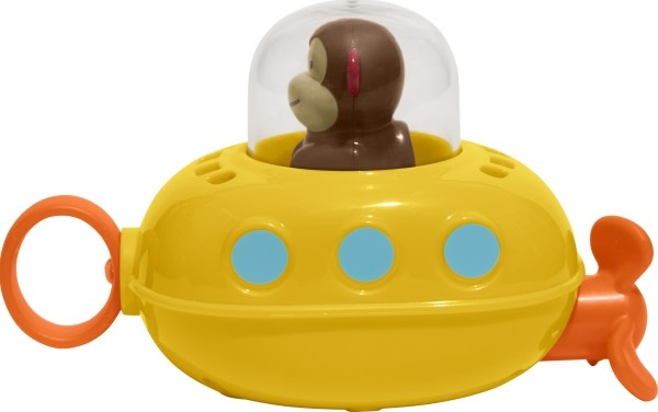 Skip Hop Zoo Bath Pull & Go Submarine - Badespielzeug U-Boot