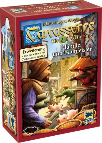 Hans im Glück Carcassonne Erweiterung 2 Händler & Baumeister