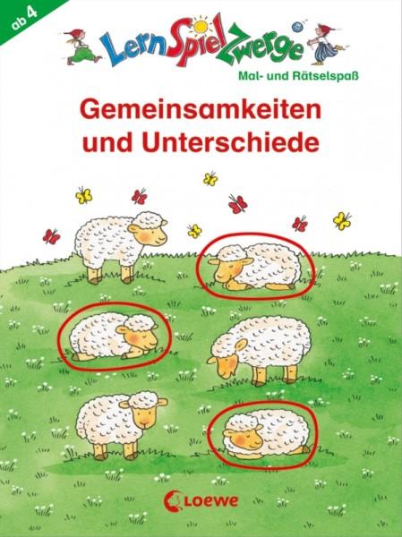 Loewe Lernspielzwerge Block: Gemeinsamkeiten und Unterschiede