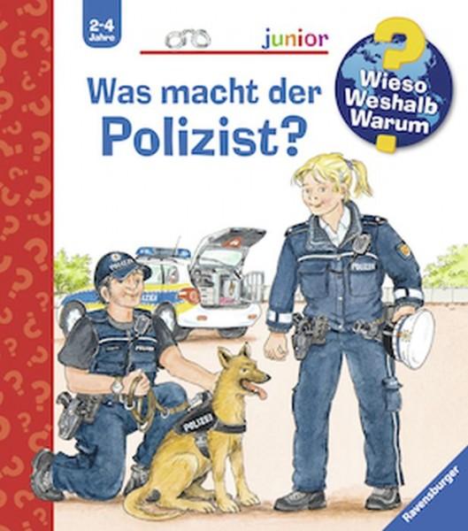 Ravensburger 32935 Wieso?Weshalb? Warum? Junior 65: Was macht der Polizist?