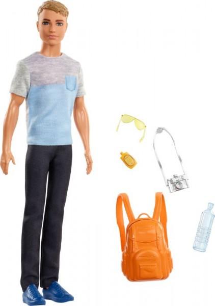 Mattel FWV15 Barbie® Reise Ken Puppe