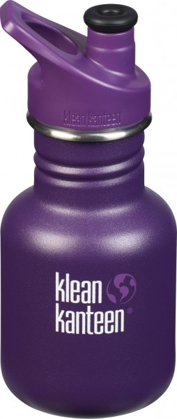 Trinkflasche lila, 355ml, Sport Cap