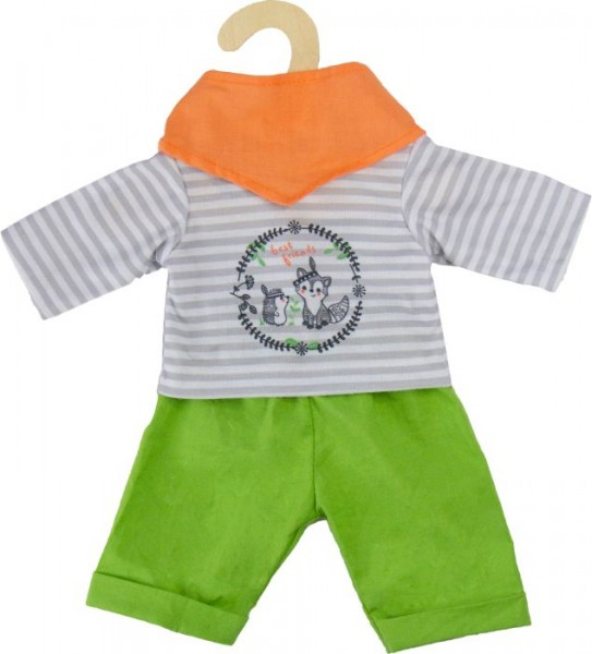 Heless Outfit ''Foxy'', 3-teilig, Gr. 28-35 cm