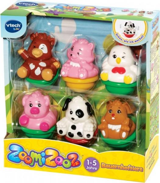 Vtech 80-438904 ZoomiZooz - 6er Set Bauernhoftiere