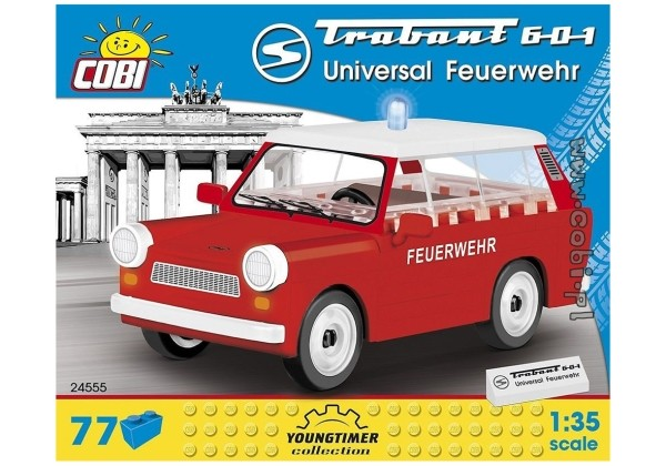 COBI 24555 TRABANT 601 FEUERWEHR