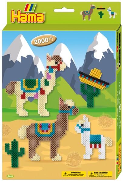HAMA Bügelperlen Geschenkpackung Alpakas 2.000 Stück