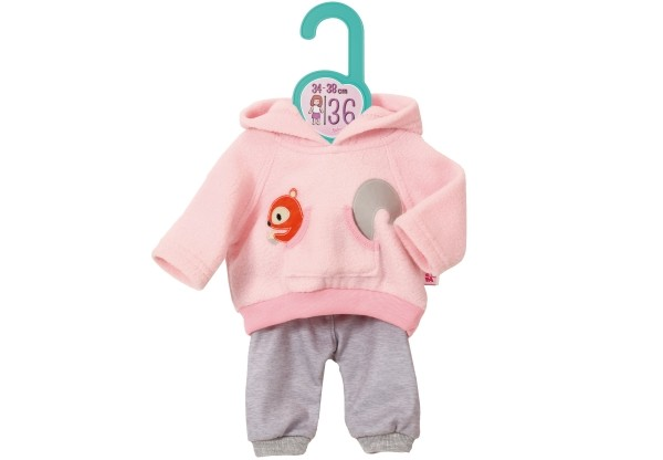 Dolly Moda Sport-Outfit Pink, Gr. 36cm