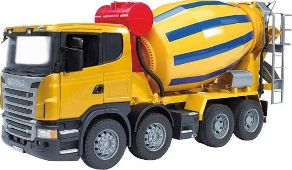 Bruder 03554 Scania R-Serie Betonmisch-LKW