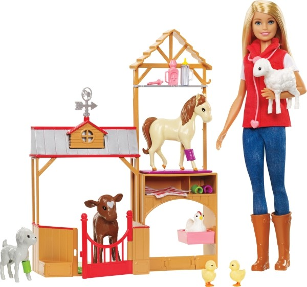 Mattel GCK86 Barbie® Farm Vet