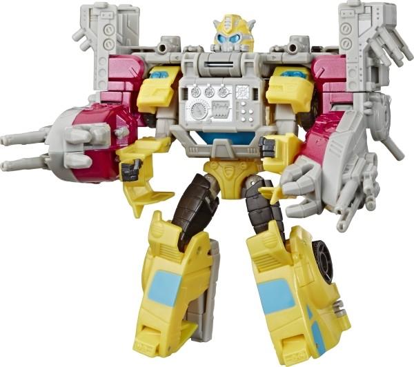 Hasbro E4329ES0 Transformers Spielzeuge Cyberverse Spark Armor Bumblebee Action-Figur