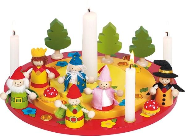 GoKi Geburtstagskranz mit Figurenset