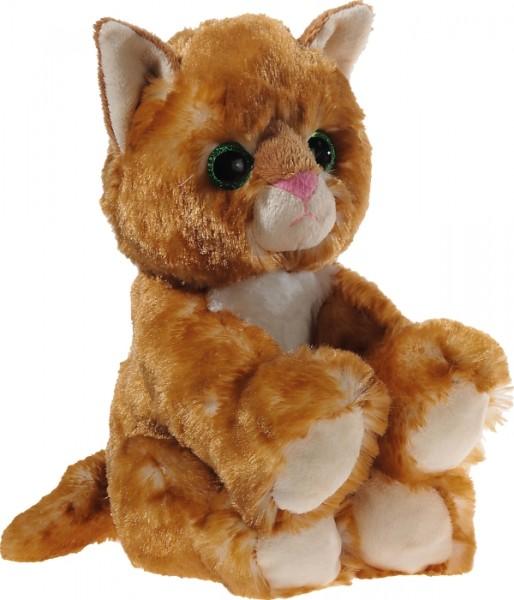 Heunec GLITTER-KITTY Katzen-Baby gold